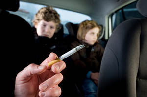 Passive Smoking In Car